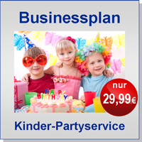 Businessplan Kinderpartyservice